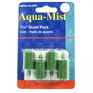 Penn Plax Aqua-Mist Airstone 7/16: 1 Pack #AS6 - Aquarium Airstones