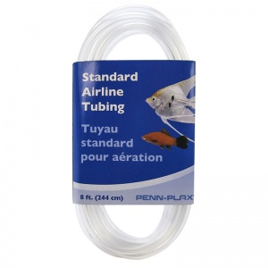 Penn Plax Standard Airline Tubing: 25' #ST25 - Aquarium and Pond Airline Tubing Best Price