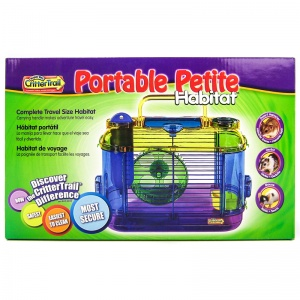 Super Pet CritterTrail Portable Petite Habitat (Mini 2) #60502 - Small Pet Habitats