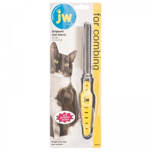 GripSoft Cat Comb #65018 - Cat Grooming Brushes and Combs