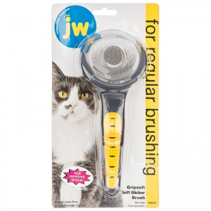 GripSoft Cat Slicker Brush #65027 - Cat Grooming Brushes and Combs Best Price