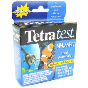 Tetra test Total Ammonia Test Kit #16617 - Aquarium Saltwater Test Kits Best Price