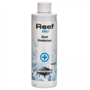 Seachem Reef Dip Coral Disinfectant: 8.5 oz #616 - Coral and Invertebrate Reef Supplements Best Price