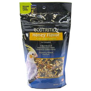 Ecotrition Honey Flavor Variety Blend for Cockatiels: Pouch - 7.5 oz #C549 - Cockatiel Food Best Price