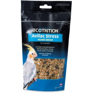 Ecotrition Avilac Stress Health Blend for Cockatiels: Pouch - 7 oz #C570 - Cockatiel Food