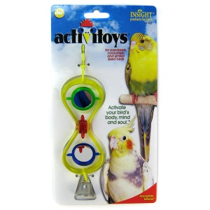 Insight Hour Glass Mirror Bird Toy #31032 - Bird Toys Best Price