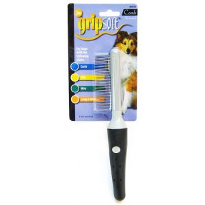 GripSoft Coarse Comb #65019 - Dog Grooming Combs Best Price