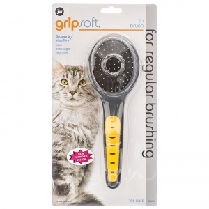 GripSoft Cat Pin Brush #65028 - Cat Grooming Brushes and Combs Best Price