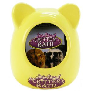 Super Pet Ceramic Critter Bath - (3.5