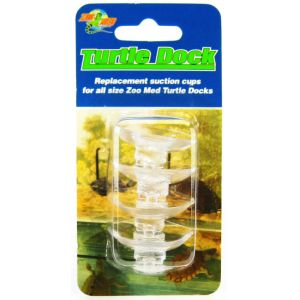 Zoo Med Turtle Dock Suction Cups - 4 Pack #TDS4 - Reptile Basking Platforms