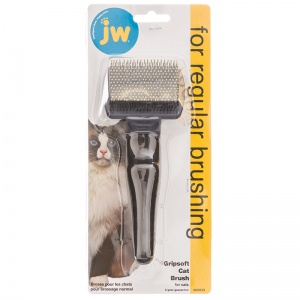 GripSoft Cat Brush #65033 - Cat Grooming Brushes and Combs Best Price