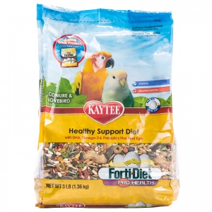 Forti-Diet Egg-Cite! Conure and Lovebird 3 lbs: 3 lbs #100032228 - Conure Food Best Price