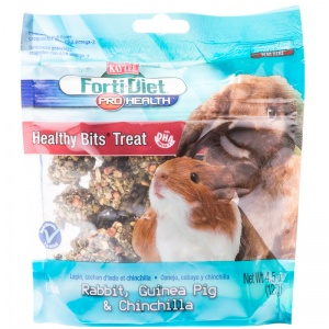 Forti-Diet Healthy Bits for Rabbits and Guinea Pigs: 4.5 oz #100502985 - Rabbit Treats