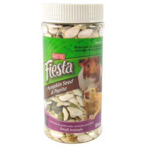 Fiesta Pumpkin and Pepita Treat for Small Animals: 6.5 oz #100503048 - Small Pet Fruit Treats Best Price