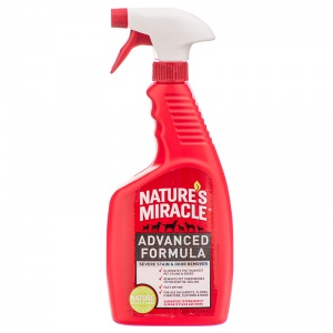 Natures Miracle Advanced Stain and Odor Remover: 24 oz #P-5729 - Dog Stain and Odor Control