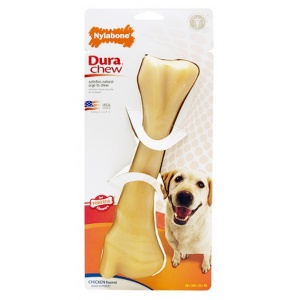 Nylabone Plus Dura Chew - Chicken Flavor: Monster #NCF107 - Dog Chew Bones Best Price