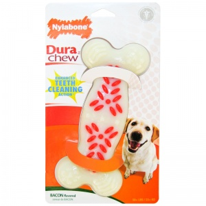 Nylabone Bacon Dura Chew: Souper #NCF405 - Dog Chew Bones Best Price
