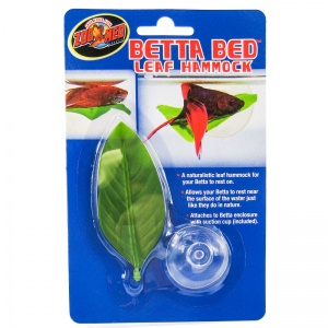 Zoo Med Aquatic Betta Bed Leaf Hammock: Betta Hammock #BL-20 - Aquarium Plants