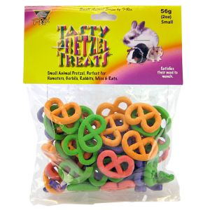 T-Rex Tasty Pretzel Treats for Small Animals: 2 oz