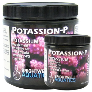 Brightwell Aquatics Potassion-P Marine Powder - Coral and Invertebrate Reef Supplements Best Price