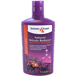 Instant Ocean Natural Nitrate Reducer: 500 mL #IN05308 - Aquarium Filter Chemical Media Best Price