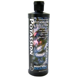 Brightwell Aquatics Concentrated Potassion Marine Solution: 500 mL #PTS500 - Coral and Invertebrate Reef Supplements Best Price