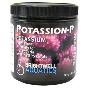 Brightwell Aquatics Potassion-P Marine Powder: 300 grams #PTSP300 - Coral and Invertebrate Reef Supplements Best Price