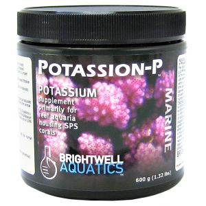 Brightwell Aquatics Potassion-P Marine Powder: 600 grams #PTSP600 - Coral and Invertebrate Reef Supplements