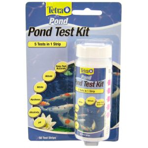 Tetra Pond 5 in 1 EasyStrips Pond Test Strips - Pond Testing Equipment Best Price