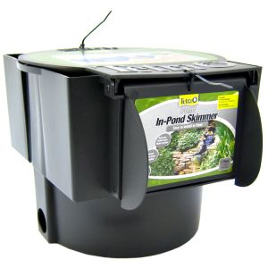 Tetra Pond In-Pond Skimmer: In Pond Skimmer - (Up to 1 000 Gallons) #PS100A - Pond Skimmers and Waterfalls Best Price