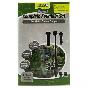 Tetra Pond Fountain Set - 3 Patterns: Pond 3 Pattern Fountain Kit #26599 - Pond Fountain Kits Best Price
