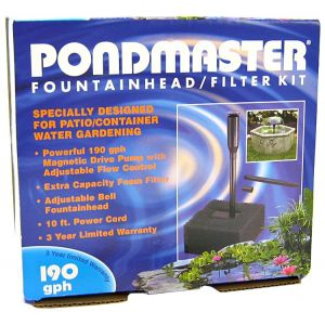 Pondmaster Pump and Fountain Kit - 190 GPH - Pond Fountain Kits Best Price