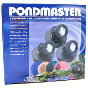 Pondmaster Pond 3 Light Set w/ Transformer: 3 Light Set with Transformer #2393 - Pond Lighting Best Price