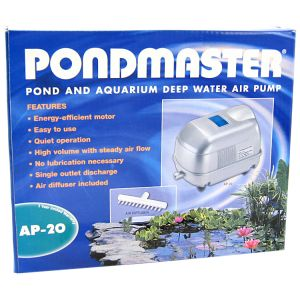 Pondmaster Pond and Aquarium Deep Water Air Pump: AP-20 - Ponds 2,500