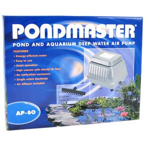 Pondmaster Pond and Aquarium Deep Water Air Pump: AP-60 - Ponds 7,000