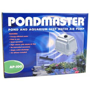 Pondmaster Pond and Aquarium Deep Water Air Pump: AP-100 - Ponds 10,00
