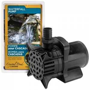 Beckett Waterfall and Stream Pump: 3500 GPH at 1 Lift #W3500 7114310 - Pond Waterfall Pumps Best Price