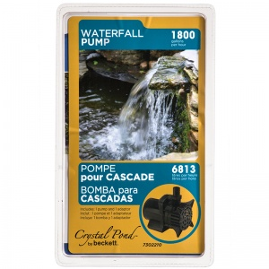 Beckett Waterfall and Stream Pump: 1870 GPH at 1&#039; Lift #W1800 7120210 - Pond Waterfall Pumps Best Price