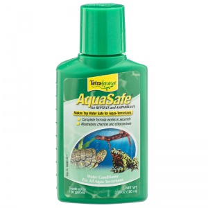 Tetrafauna Aquasafe for Reptiles: 3.4 oz - 100 ml #77009 - Reptile Water Treatments Best Price