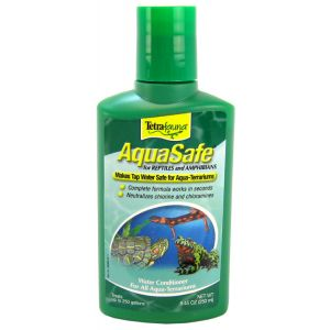 Tetrafauna Aquasafe for Reptiles: 8.5 oz - 250 ml #77010 - Reptile Water Treatments Best Price