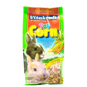 VitaKraft Popcorn Treat for Rabbits - Rabbit Treats Best Price
