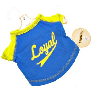 Fashion Pet Loyal Baseball Jersey - Blue - Active Dog Wear