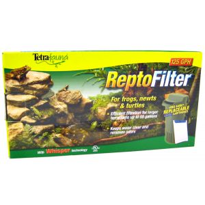 Tetrafauna ReptoFilter for Terrariums: 125 GPH - (Fits Terrariums up t