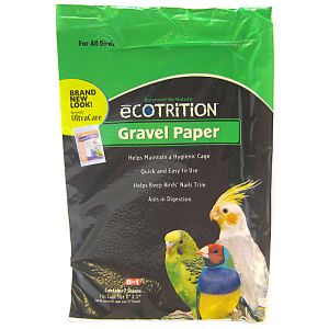 Ultra Care Gravel Paper For All Birds: 11 x 17 - (7 Sheets) #C354 - Bird Cage Cleaning Supplies Best Price
