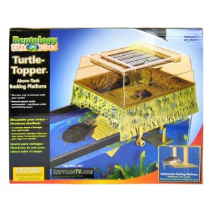 Reptology Turtle Topper Above Tank Basking Platform: Turtle Topper #REP600 - Reptile Basking Platforms