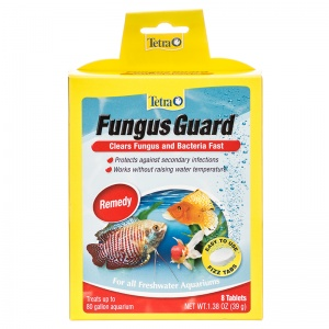 Tetra Fungus Guard Tabs: 8 Tabs #77345 - Bacterial and Fungal Aquarium Medications Best Price