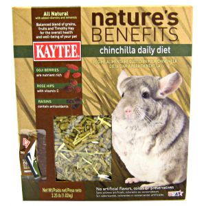 Kaytee Nature's Benfits Chinchilla Food: 2.25 lbs #100503482 Best Price