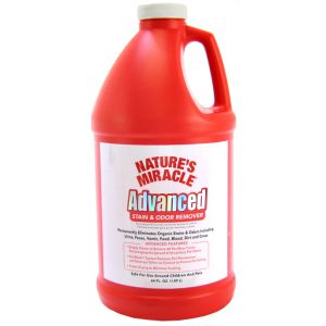 Natures Miracle Advanced Stain and Odor Remover: 64 oz #P-5756 - Dog Stain and Odor Control Best Price