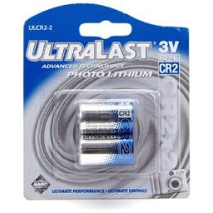Coastal Pet Ultralast Photo Lithium Batteries (CR2) - Replacement Batteries