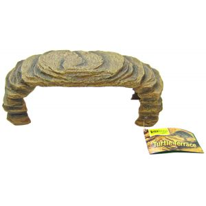 Tetrafauna Sandstone Turtle Terrace Resin - Reptile Basking Platforms Best Price